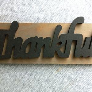 Fall/Thankagiving Wooden Sign Farmhouse Sign